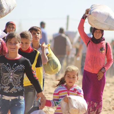 WorldVenture Missionaries Offer Aid to Syrian Refugees