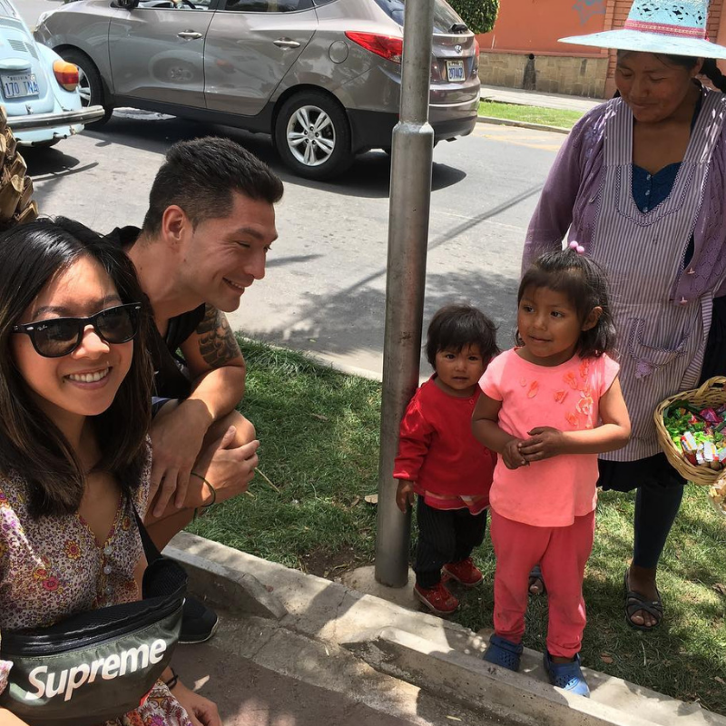 The Vendors of La Cancha