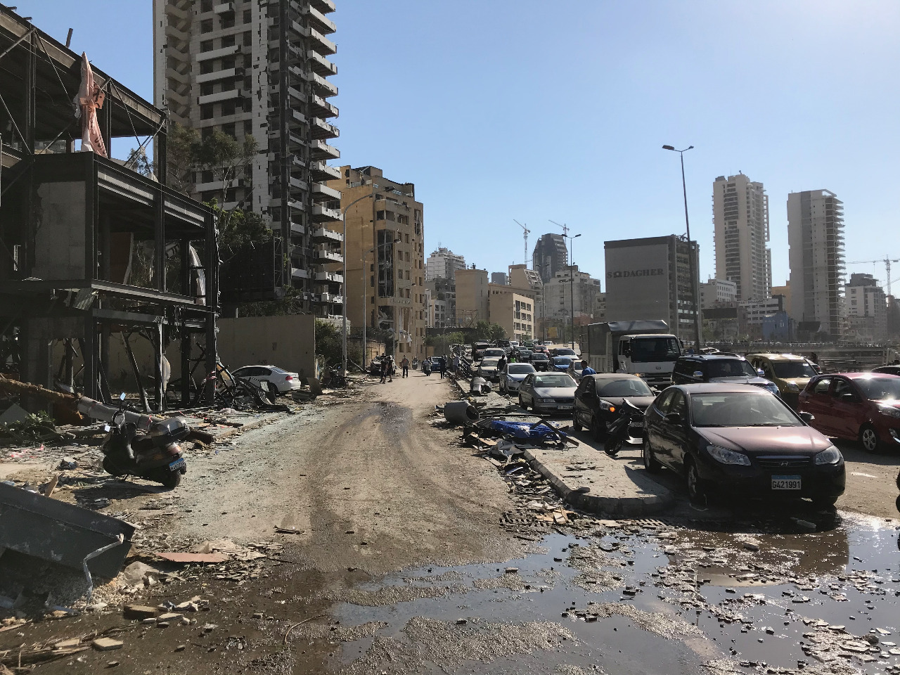 Beirut explosion 8-2020